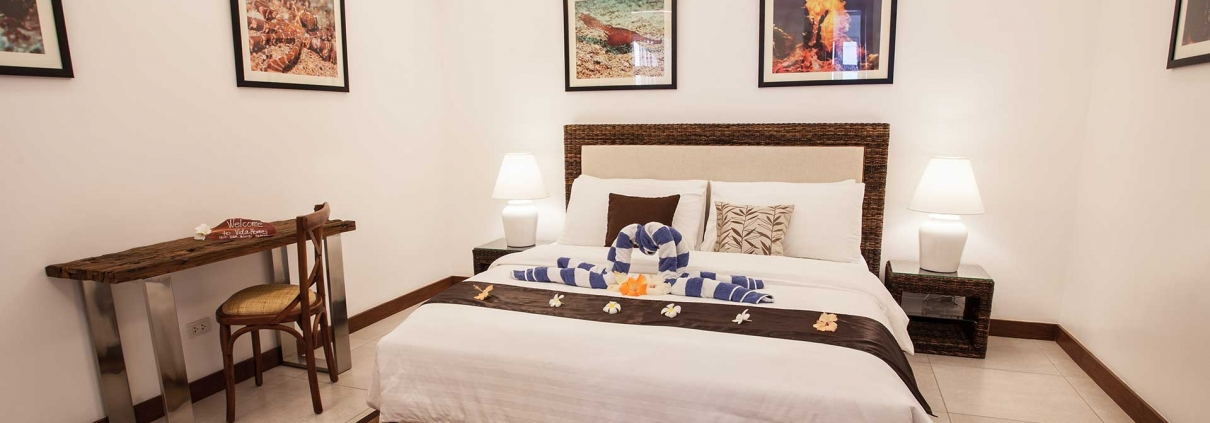 Vida Homes - One Bedroom Apartment - Beach Front - Bedroom View