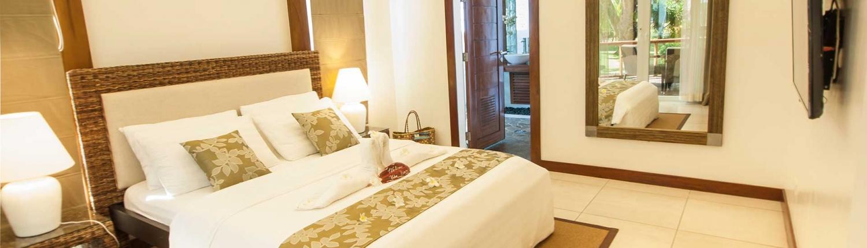 Vida Homes - Deluxe 1 Apartment - Pool Side - Bedroom
