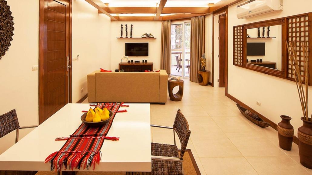 Vida Homes - One Bedroom Apartment - Living Room